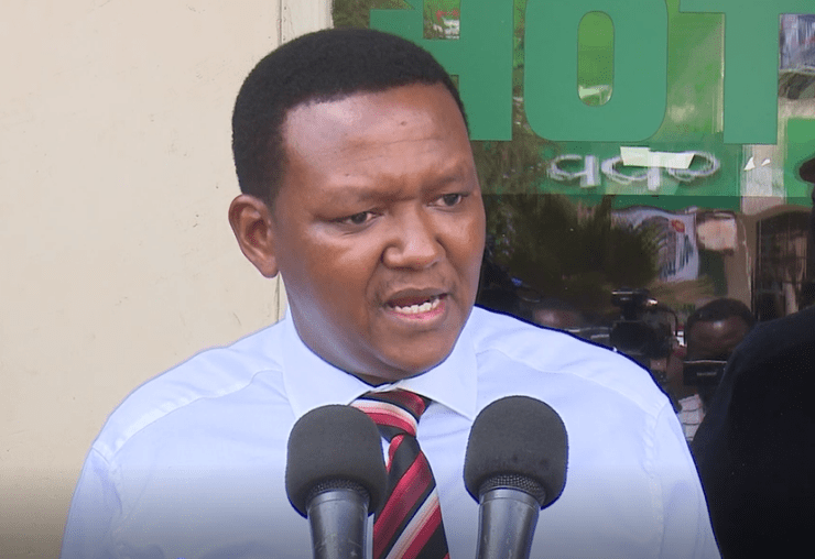 Machakos Governor Alfred Mutua urges Uhuru Kenyatta to start process of fully constituting IEBC
