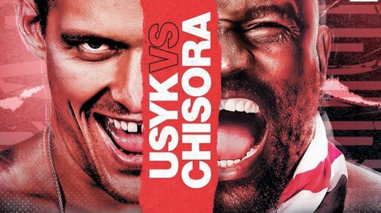 Derrick Chisora vs Oleksandr Usyk Gervonta; Davis vs Leo Santa Cruz: Live boxing on Showmax Pro this weekend