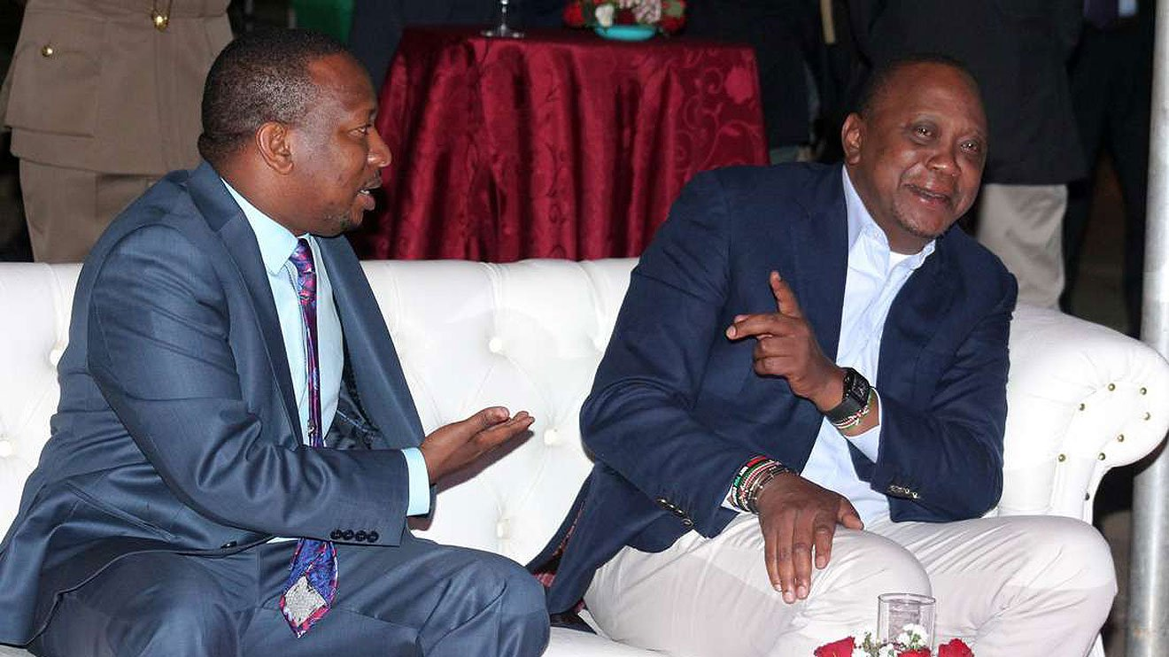 Angry reactions as Uhuru, Sonko battle rages