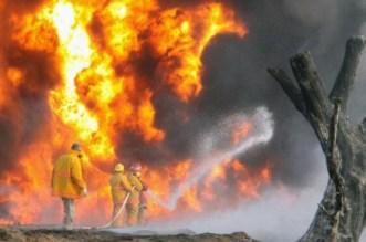 Oil Pipeline Explodes