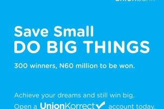 Union Bank of Nigeria Plc has launched a savings product, UnionKorrect, which is aimed at helping its customers to develop a savings culture.