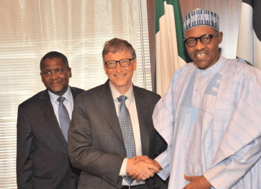 Gates and Buhari