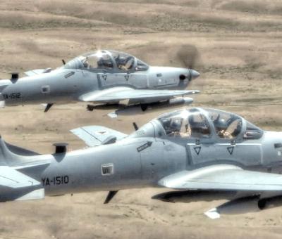 Six Super Tucano Aircrafts Depart US For Nigeria