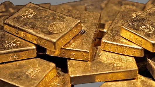 gold Asian spot