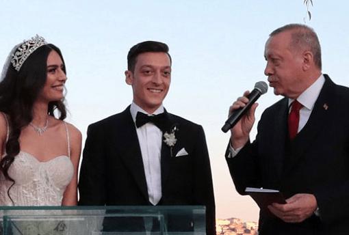 Mesut Ozil weds
