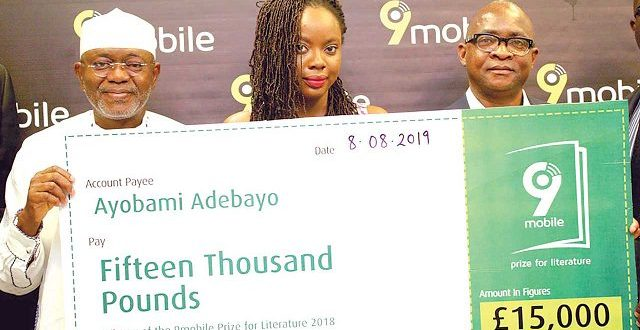 Ayobami Adebayo Emerges Winner of 9mobile