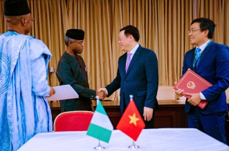 Nigeria and Vietnam