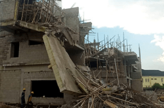 Collapsed 2 Storey Building