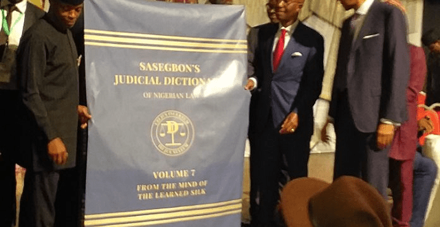 Sasegbon's Dictionary of Nigerian Law