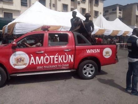 "Amotekun Intercepts Truckload Of Fulani Youths Sent For ""Military Training In Ondo"""