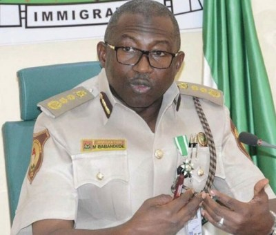 MImmigration Boss Says Border Is Good For Nigeria's Economy, Securityuhammed Babandede