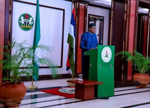 Buhari's Speech