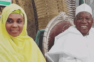 Ganduje and his wife test negative