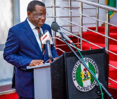 Lalong Accuses Politicians Of Fueling Crisis In Plateau State