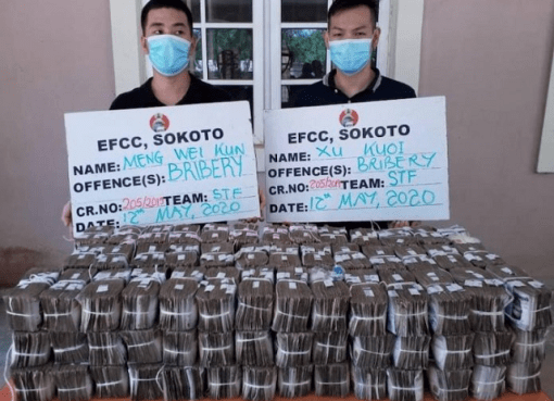 Attempt to Bribe EFCC Officer with ₦100 million