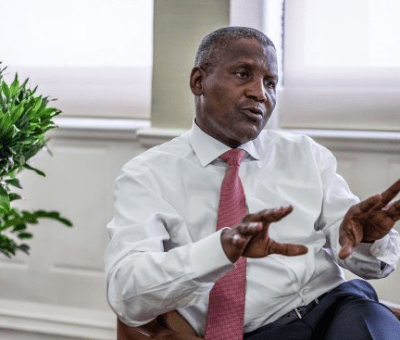 Dangote Calls for 1 percent Tax on Profits of Businesses to Fund Health Sector