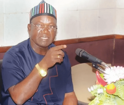 Pension, Gratuity Are National Problems - Ortom