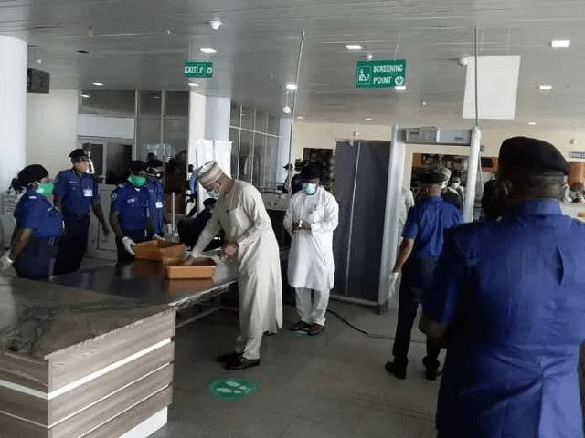Hadi Sirika Inspects MMIA ahead of Reopening   BizWatchNigeria.Ng