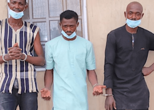 Police Apprehend 3 Brothers over Murder