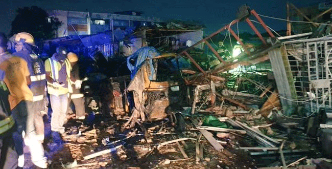 Gas Explosion Leaves Several Persons Injured in Lagos Community