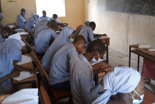 Chibok Local Government Writes WAEC