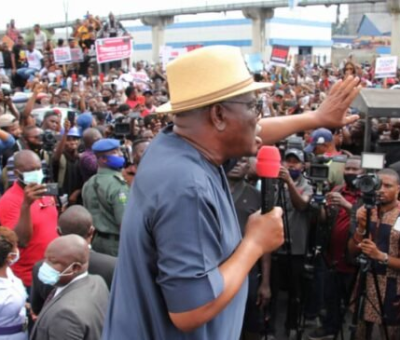 Wike Meets Protesters