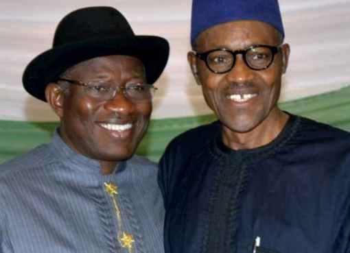 Buhari Fetes Ex-President Jonathan At 63rd Birthday