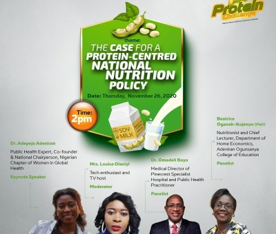 Experts Task FG on National Protein Nutrition Policy