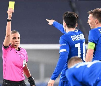Woman Referee Makes Champions League History As Juve Trounces Dynamo Kiev