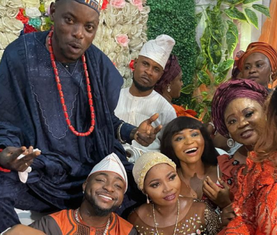 Davido Performs At His Driver's Wedding