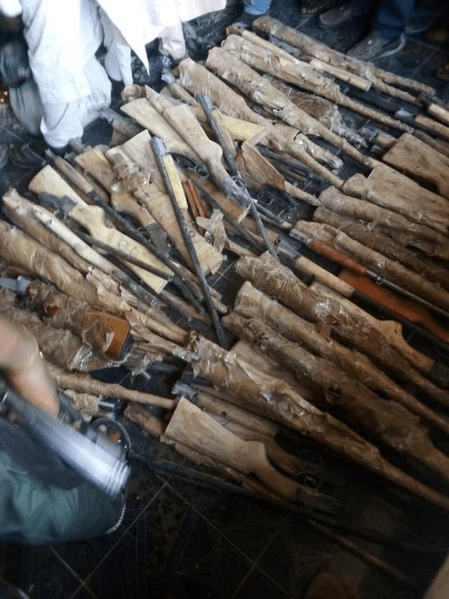 NCS Intercepts 73 Firearms, Ammunition in Kebbi State