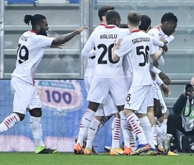 AC MilanForward, Rafael Leao Scores Fastest Serie A Goal