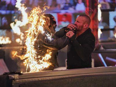 Watch WWE TLC 2020 Highlights As Randy Orton Burns The Fiend To Death