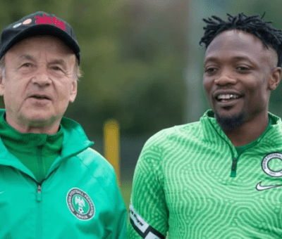 Rohr, Musa Disagree on Best FIFA Men's Player of the Year
