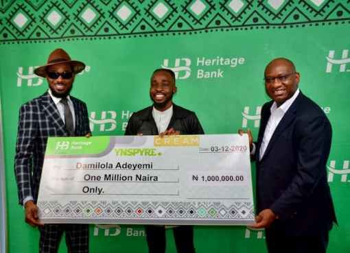 Creative Industry Gets New Lease of Life with ₦5 billion Funds - Heritage Bank