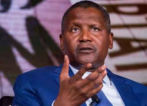 Dangote On Bloomberg's Billionaires List, With $17.8bn Networth
