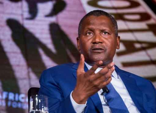 Dangote Says Nigeria Should Not Be Comfortable Generating Revenue From Crude Oil Alone