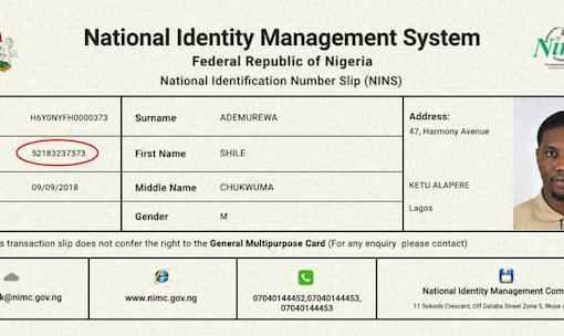 Nigerian Govt Extends NIN-SIM Integration to May
