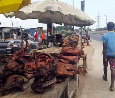 Nigerians Continue To Eat Bush Meat Amid COVID-19