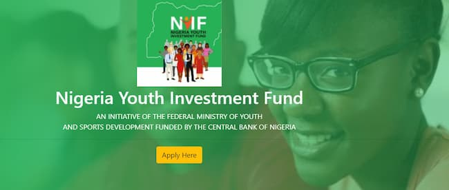 The Nigeria Youth Investment Fund (NYIF) loan is still ongoing as the Nigerian youths loan application has been approved.