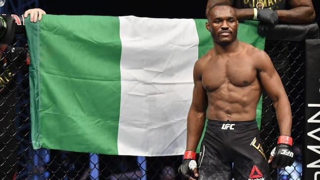 UFC: Nigeria's Kamaru Usman Knocks Out Brazil's Gilbert Burns