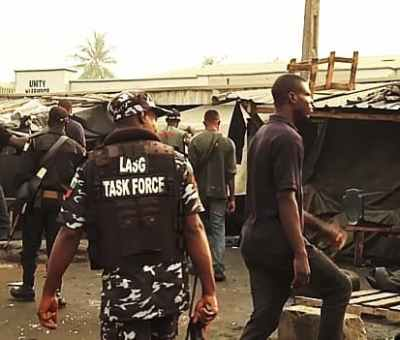 Lagos State Begins Demolition Of Illegal Structures At Oshodi