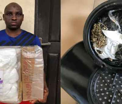 NDLEA Nabs Parcels Of Cocaine, Heroin, Others En route Abroad