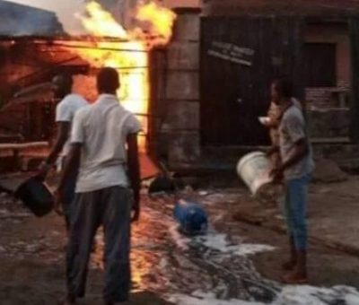 Pandemonium As Gas Explosion Rocks , Amuwo-Odofin