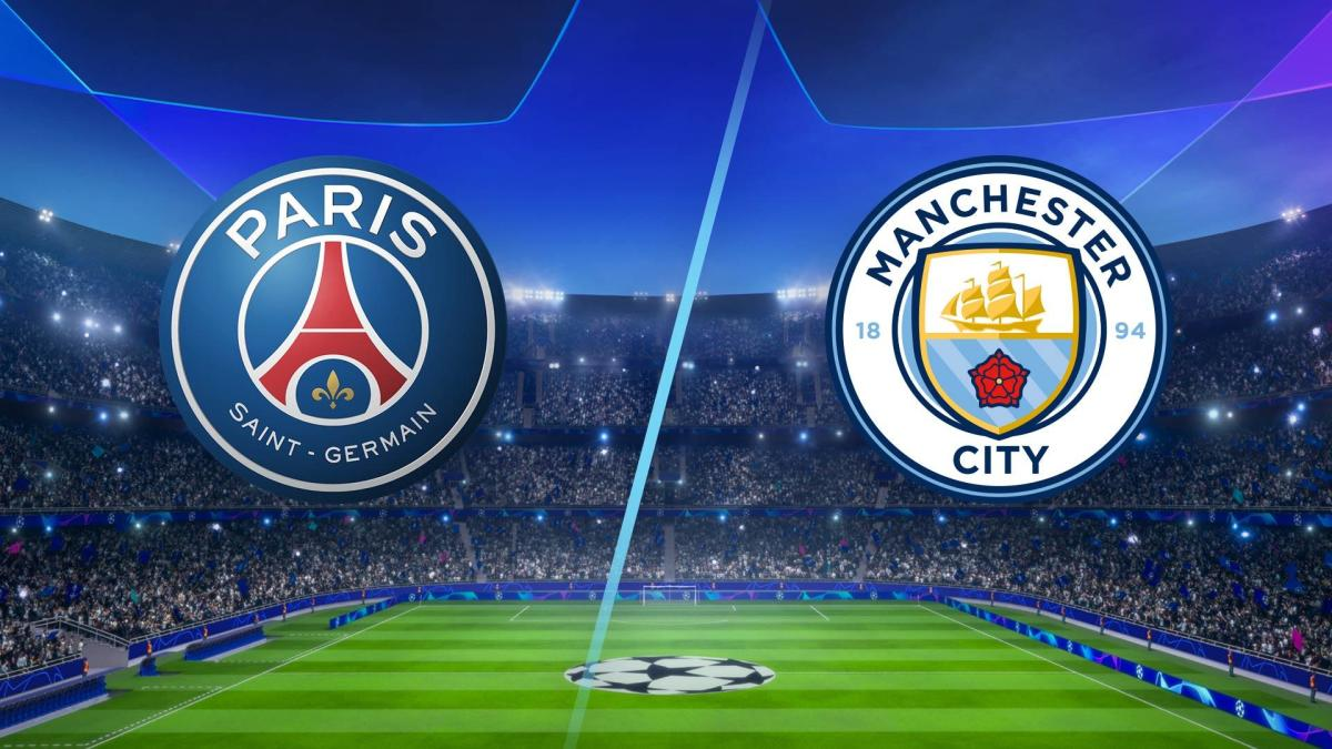 PSG vs Man City Official Line-ups