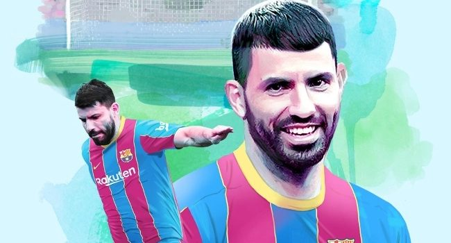 Aguero Completes 2 year Transfer Deal With Barcelona