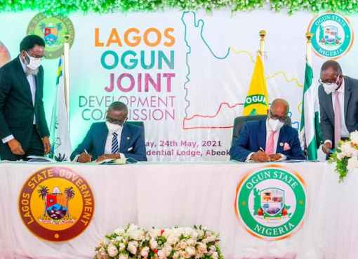 Lagos-Ogun Enter Sign MoU To Create Joint Development Commission