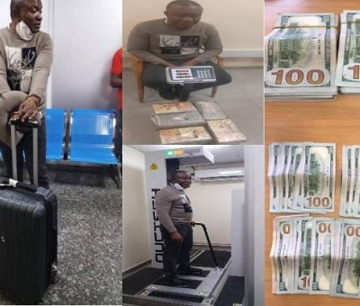 NDLEA Seizes Cocaine Worth Over N8 billion At MMIA, Arrests Suspect