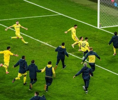 Villareal Scalps Manchester United To Lift Europa Cup