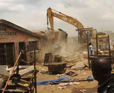 Lagos Govt Demolishes Illegal Structures